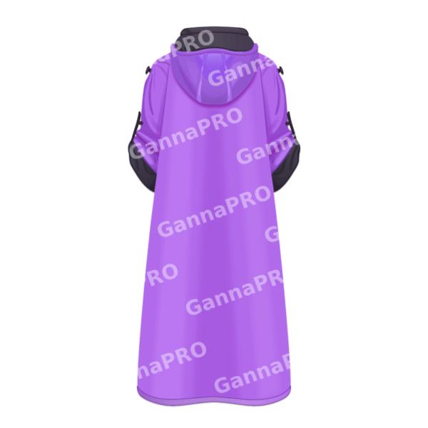 Халабан из микрофибры фиолетовый